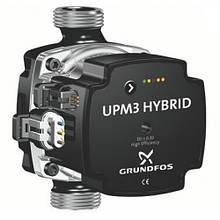 Насос енергоефективний циркуляційний UPM3 HYBRID 25-70-180 Grundfos (Данія)