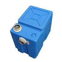 Жировловлювач 30л (сепаратор жиру) для будинку і кафе Компакт-30 (41*37*27 см)