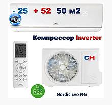 Бытовой тепловой насос,Cooper&Hunter,NORDIC( R32),CH-S18FTXN-NG кондиционер