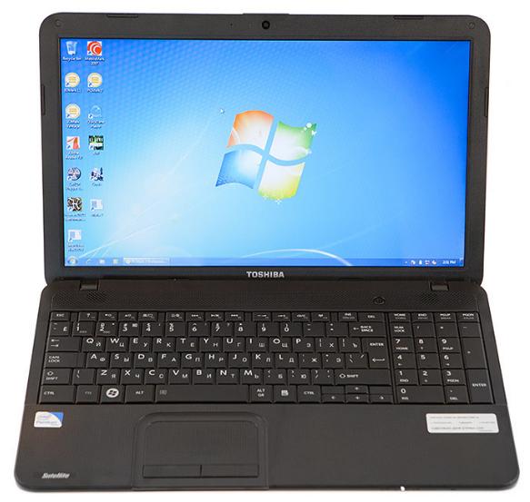 "Ноутбук БО Toshiba Satellite C850 15.6"" HD i3-2370M 4Gb HDD320Gb"