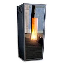 Котел-печь пеллетный Alfa-Plam Forma Glass 12 кВт воздушного отопления(Сербия)