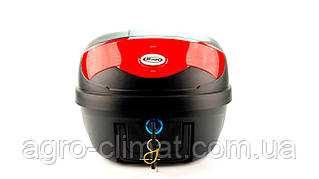 Кофр для мотоцикла (багажник) HF-808 чорний мат