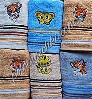 Махровий кухонний рушник 30×70 Тигр
