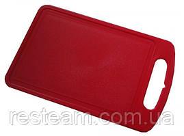 Дошка розділ. пластм. 15 * 25 см червона Алеана