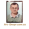 Табличка с портретом в склі 200х300 мм, фото 7