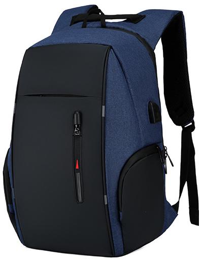 Школьный рюкзак Bobby 2.0, 25 л, три подарка, синий