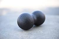 Массажер для ног и рук мышц спины (мяч массажный арахис для йоги и фитнеса) OSPORT Duoball 24-12см (MS 2758-1)