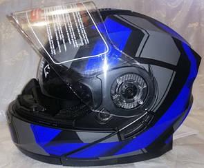 Шлем трансформер F2 c очками