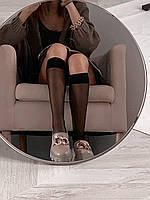 Бежеві шкіряні лофери, розмір 36, фото 1