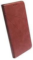 Чехол-книжка Xiaomi Redmi 9C rose gold Business Leather