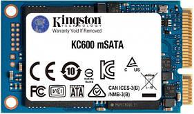 SSD 1ТВ Kingston KC600 mSATA SATAIII 3D TLC (SKC600MS/1024G)