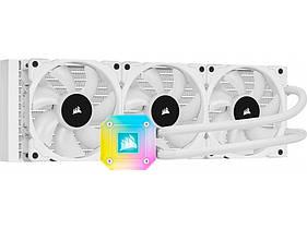 Система водяного охолодження Corsair iCUE H150i ELITE CAPELLIX Liquid CPU Cooler White (CW-9060051-WW
