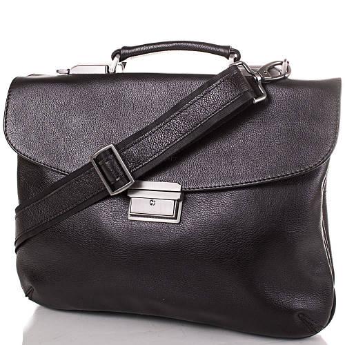 Кожаный мужской портфель ETERNO ETMS4482 черный