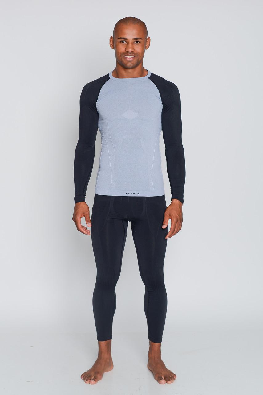 Термобелье мужское спортивное Tervel Comfortline, комплект, зональное, бесшовное