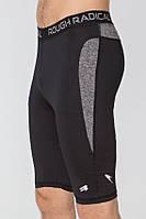 Спортивні чоловічі шорти-тайтсы Rough Radical Rapid (original), компресійні шорти для бігу, спортзалу, фото 1
