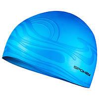 Шапочка для плавання Spokey Shoal 87464 (original) для басейну, силікон доросла