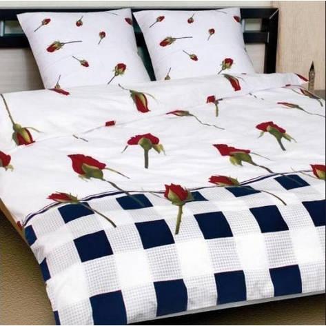 """Дешевый и качественный комплект постельного белья """"Бутон комби"""" Premium бязь., фото 2"""