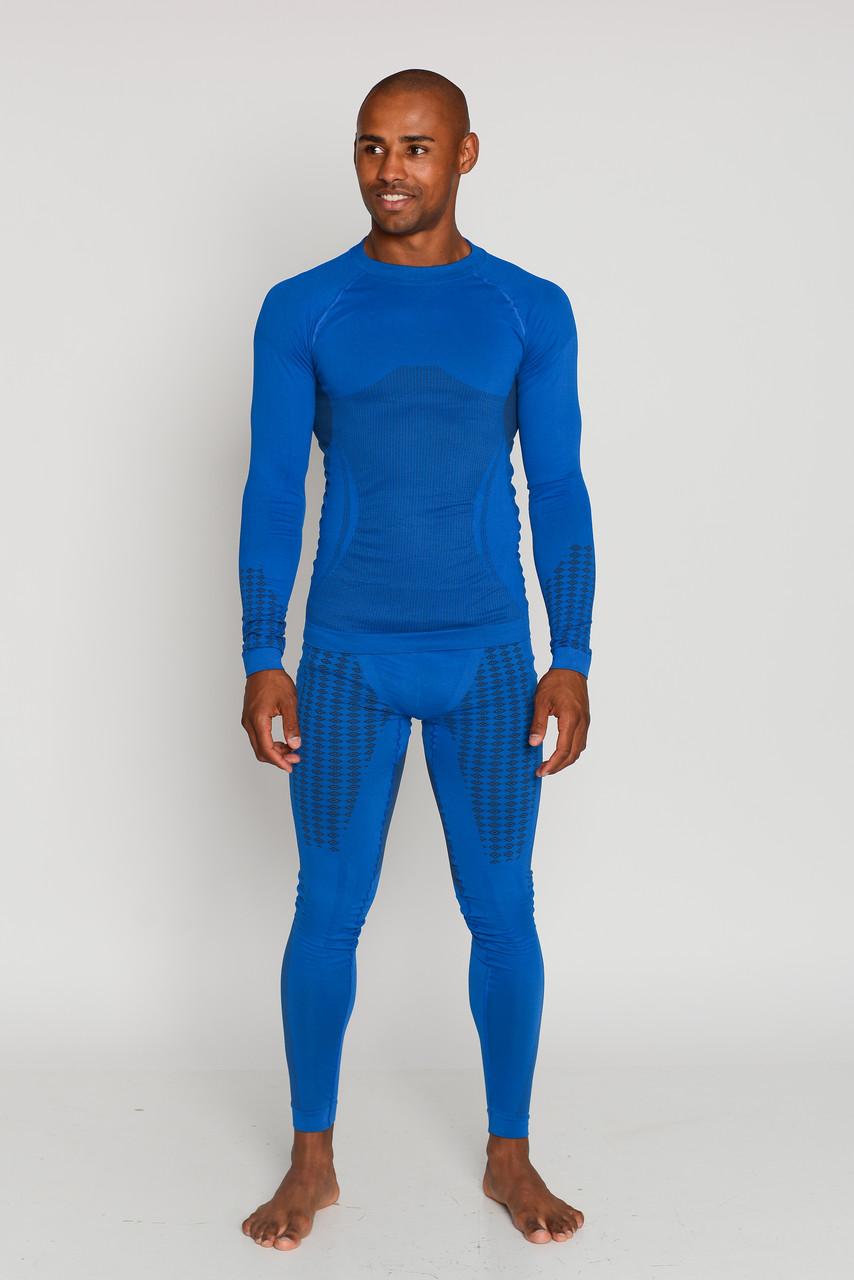 Комплект мужского термобелья для спорта HASTER UltraClima зональное бесшовное спортивное термобелье