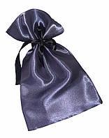 Атласный мешочек для упаковки с лентой