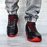 Чоловічі черевики зимові чорні (Дт-3ччп), фото 3