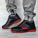 Чоловічі черевики зимові чорні (Дт-3ччп), фото 4