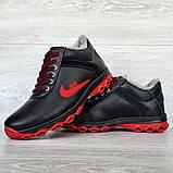 Чоловічі черевики зимові чорні (Дт-3ччп), фото 5