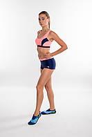 Раздельный женский купальник спортивный Aqua Speed Fiona (original), с топом и шортами для бассейна, фото 1