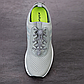 Регульовані гумові еластичні шнурки для взуття / кросівок з фіксаторами швидкої застібкою. Колір чорний, фото 7