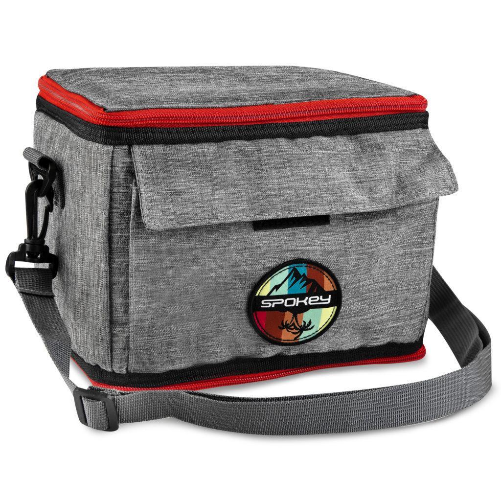 Термосумка (працює без акумуляторів!) Spokey ICECUBE 2 927379, ланч бокс, сумка-холодильник 5л