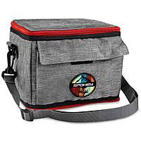 Термосумка (працює без акумуляторів!) Spokey ICECUBE 2 927379, ланч бокс, сумка-холодильник 5л, фото 1