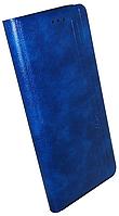 Чохол-книжка Xiaomi Redmi 9C dark blue Leather Gelius New, фото 1