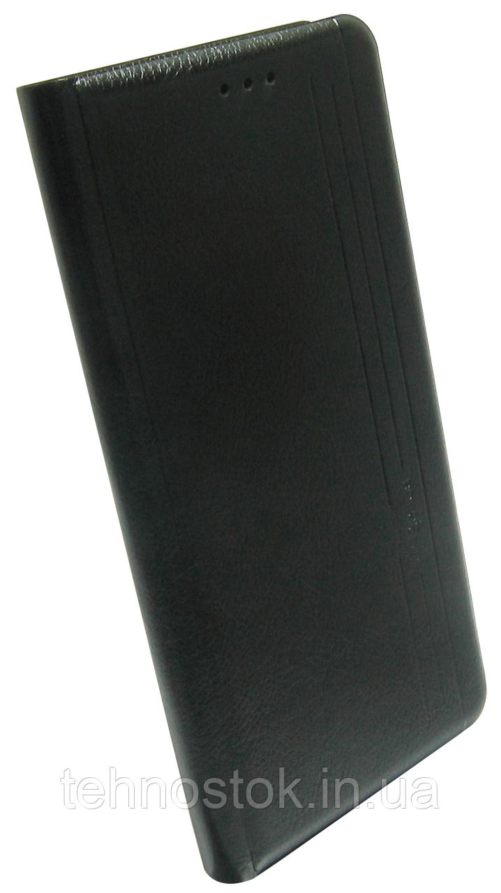 Чехол-книжка Xiaomi Redmi Note 8 Pro black Leather Gelius New