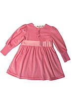 Платье велюровое на девочку