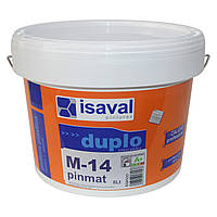 М-14 Пинмат - глубокоматовая краска для потолков ISAVAL 8л до 64 м2, фото 1