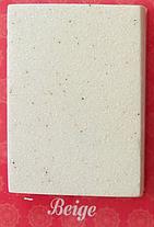 Овальная кухонная мойка MOKO VERONA BEIGE на основе мрамора, фото 3