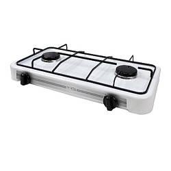 Настільна газова плита-таганок Mirta GS-1002W на 2 конфорки