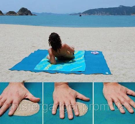 Пляжний килимок антипесок Sand-free Mat, фото 2