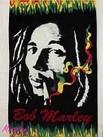 Пляжное полотенце велюр-махра Bob Marley Турция