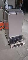 Твердотопливный котел Bizon FS-12 Eko, 12 кВт, длительного горения, шахтного типа (Холмова), верхняя загрузка