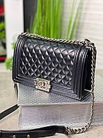 Кожаная сумочка Шанель  натуральная кожа (реплика), фото 1