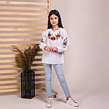 Вишиванка Moderika Ранкова Роса біла з вишивкою, фото 4