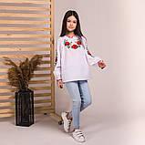 Вишиванка Moderika Ранкова Роса біла з вишивкою, фото 3