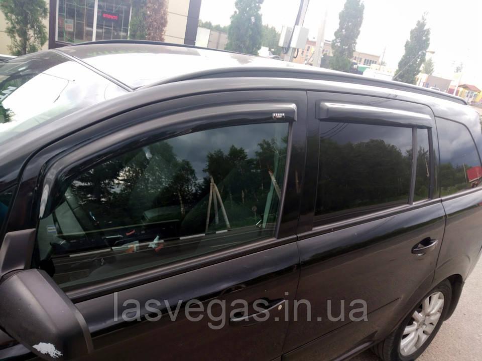Дефлекторы окон, ветровики Opel Zafira B 2005-2011 (HIC)