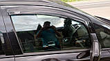 Дефлекторы окон, ветровики Opel Zafira B 2005-2011 (HIC), фото 2