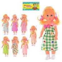 Кукла 1010 Алиса, 25см, 8 видов,11,5-32-3см