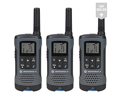Рація Motorola Talkabout T200 FRS/GMRS Two-Way Radios (3-Pack, Gray) (T200TP)