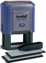 Текстовый штамп 6-ти строчный Trodat