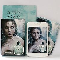 Женские духи-планшет в фоточехле Armani Acqua di Gioia