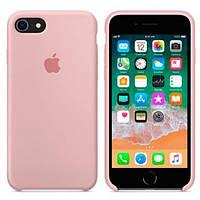 Оригинальный силиконовый чехол для iPhone 6 Plus / 6s Plus Silicone Case (Нежно розовый)