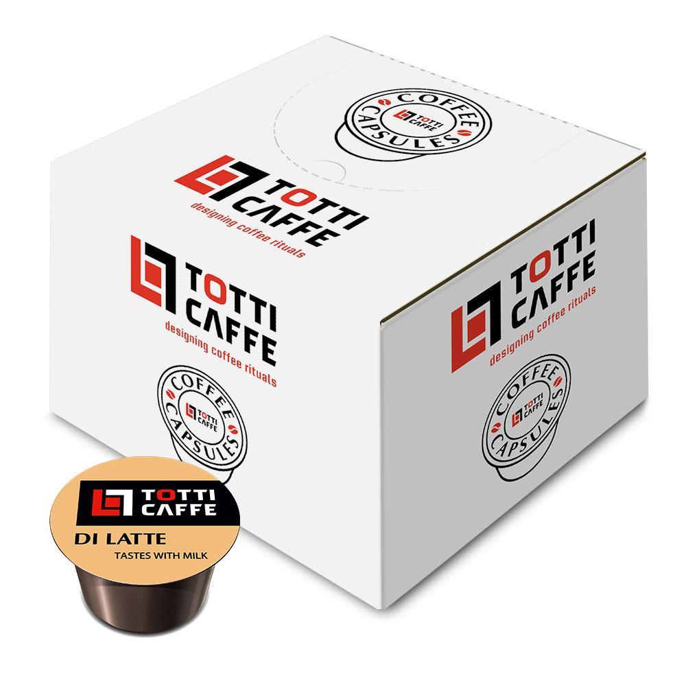 Кава в капсулах TOTTI Caffe Di Latte, 8г *100шт